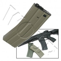 King Arms M4/M16 Hicap Magazine 450rd Dark Earth