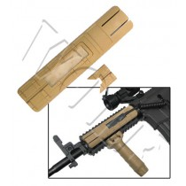 King Arms Rail Cover with Remote Switch Pocket - Tan