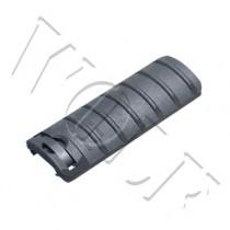 King Arms Rail Cover 6 Ribs - Black