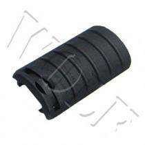 King Arms Rail Cover 5 Ribs - Black