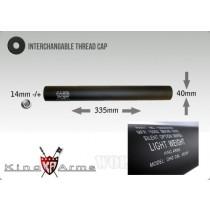 King Arms LW Silencer - 335 x 40mm