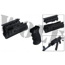 King Arms AK47S Railed Handguard with Grip