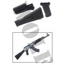 King Arms AK74M Handguard Grip Stock - Black