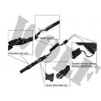 King Arms Tactical Pistol Lanyard - Black