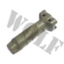 King Arms TD Vertical Tac Grip - Olive Drab