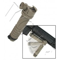 King Arms Folding Fore Grip - Dark Earth