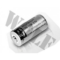 Wolf Eyes LRB-CR123A 3.7V Rechargeable Battery