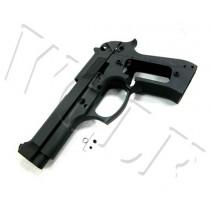 Guarder Metal Slide & Frame for TM M92F/M9 - Black/No Markings
