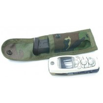 Guarder 9mm Pistol Magazine Pouch/Knife Pouch - Woodland