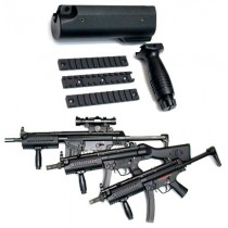 Guarder MP5 Large Tactical Handguard with Rails