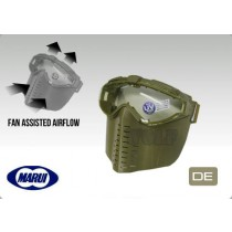 Tokyo Marui Pro Goggle Full Face Mask with Fan Tan