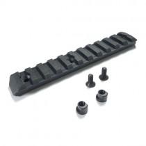 PTS Enhanced Rail Section (Keymod) Black 11 Slots