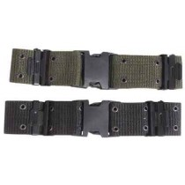 "MIL-COM Quick Release Nylon Pistol Belt 2"" Black"
