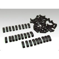 BF Larue Index Clips 60 Pieces Black