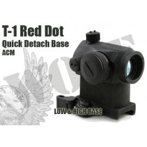ACM T-1 Micro Red Dot Sight with QD High Mount