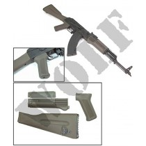 Guarder AK Plastic Grip & Stock for Guarder AKM (OD)