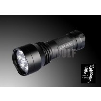 Wolf Eyes Super Storm Q5 HO LED Rechargeable Torch