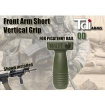 Tdi Arms SVG Short Vertical Grip OD SVGG