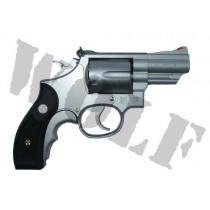 Tanaka S&W M66 2.5 inch Stainless HW Revolver