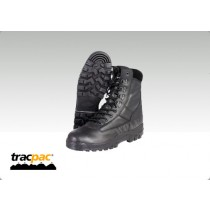Tracpac All-Leather Patrol Boots Size 8
