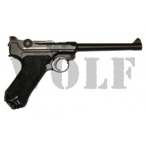Tanaka Luger P08 6 inch Heavy Weight GBB Pistol