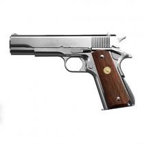 Tokyo Marui Colt 1911 Series 70 Nickel Finish GBB Pistol