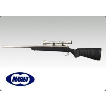 Tokyo Marui Pro Hunter Stainless Black Stock Spring Sniper Rifle