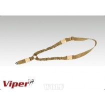 Viper Single Point Bungee Sling Sand