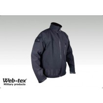 WebtexTac Soft Shell Jacket Black - XXL