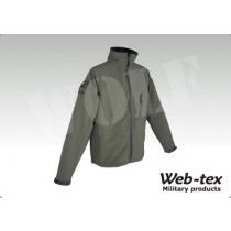 Webtex Tac Soft Shell Jacket OD - XXL
