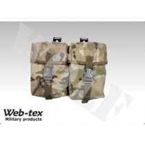 z Webtex Double Utility Pouch Multicam