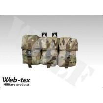 z Webtex Treble Utility Pouch Multicam