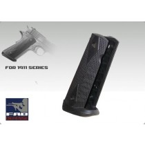 FAB Defense 1911 Mag Well Grip - Black