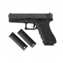 WE Glock 18C Gen 4 Airsoft Gas Blowback GBB Pistol (Black)
