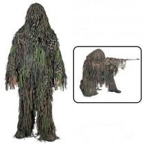 Camosystems Jackal Ghillie Short Suit Woodland