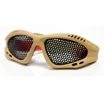 Nuprol SHADES Mesh Eye Protection Tan (Small)