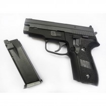 WE P229 Black GBB Pistol airsoft