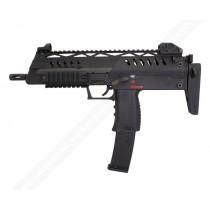 WE SMG-8 (MP7) Black GBB Submachine Gun airsoft