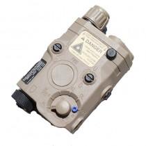 TMC AN/PEQ-15 Battery Case w/ Red Laser (Dark Earth)