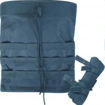 Viper Foldable Dump Bag Black