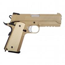 WE Desert Warrior 4.3 GBB Pistol (Tan)
