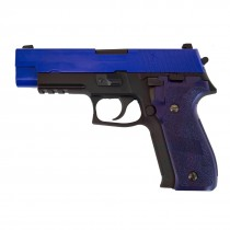 WE P226 w/ Rail GBB Pistol (Blue)