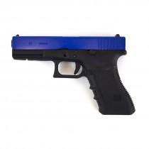 WE Glock 17 Gen 4 GBB Pistol Two Tone (Blue)