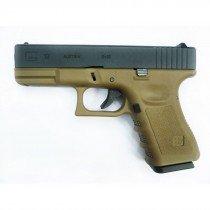 WE Glock 19 Gen 4 GBB Pistol (Tan)