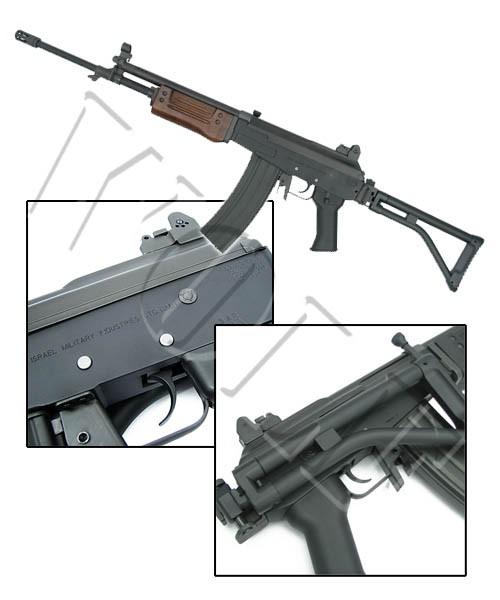 King Arms Galil AR Wood Version Rifle AEG