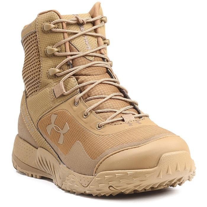 Estación Contando insectos Analgésico  Under Armour Valsetz RTS Tactical Boots (Coyote) - UK7
