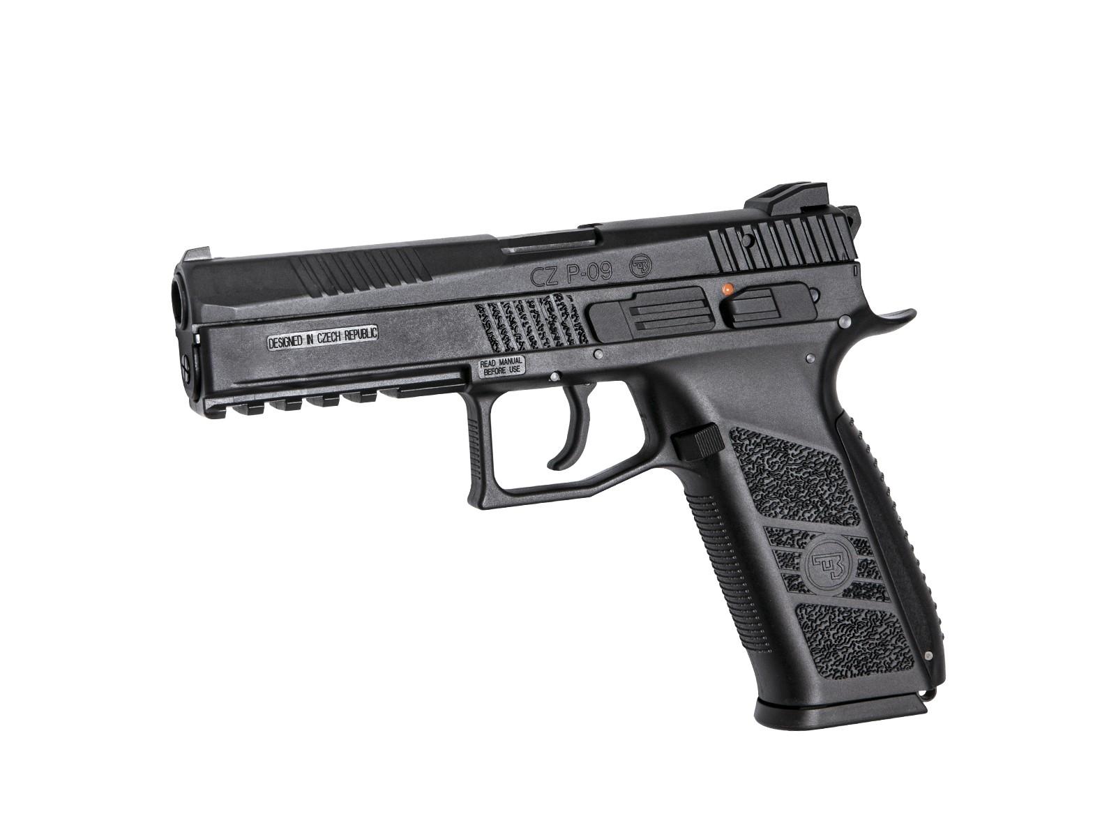 ASG CZ P-09 GBB Pistol (Black)