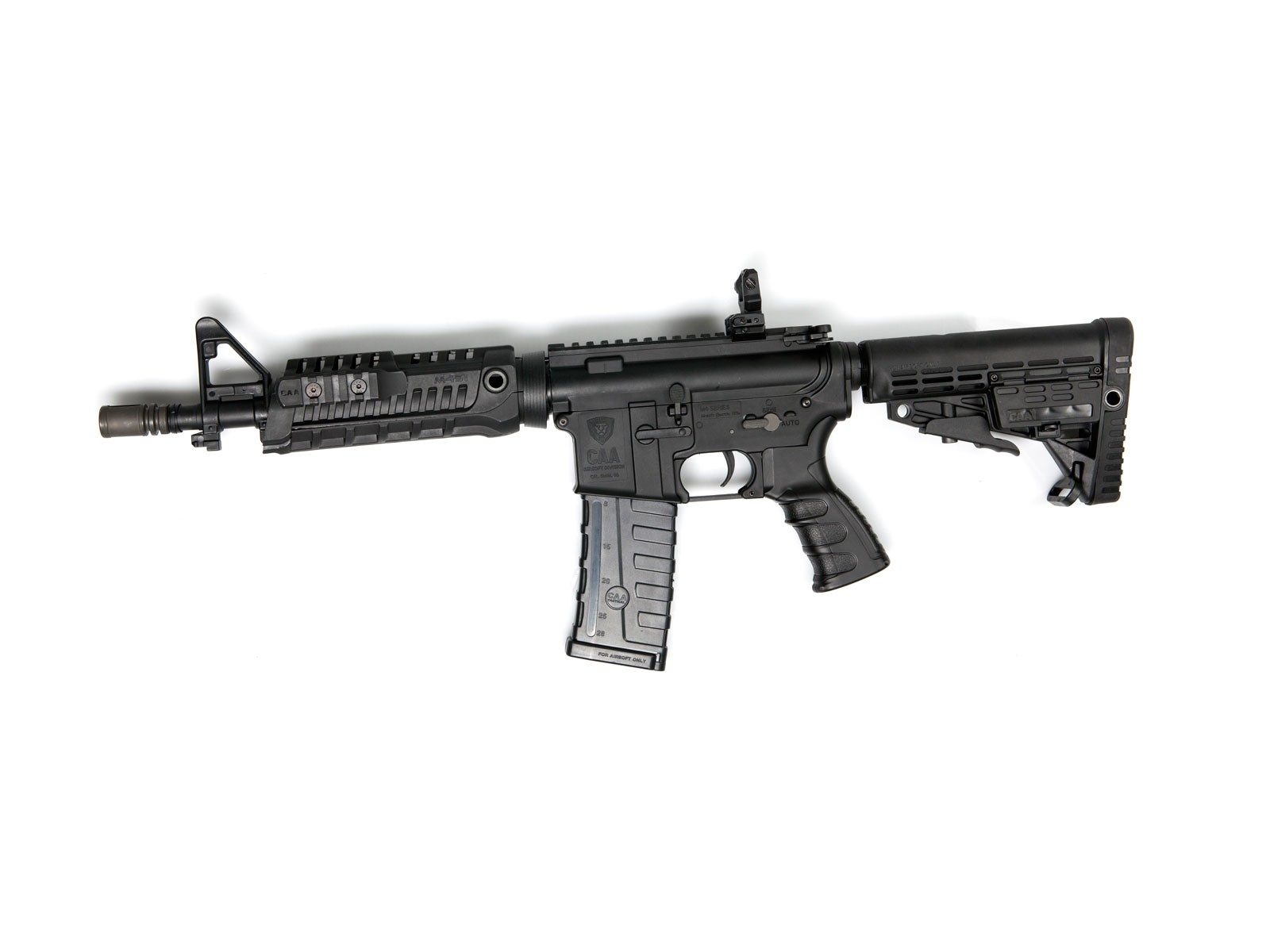 ASG CAA M4 CQB Airsoft AEG with MOSFET & Quick Change Spring