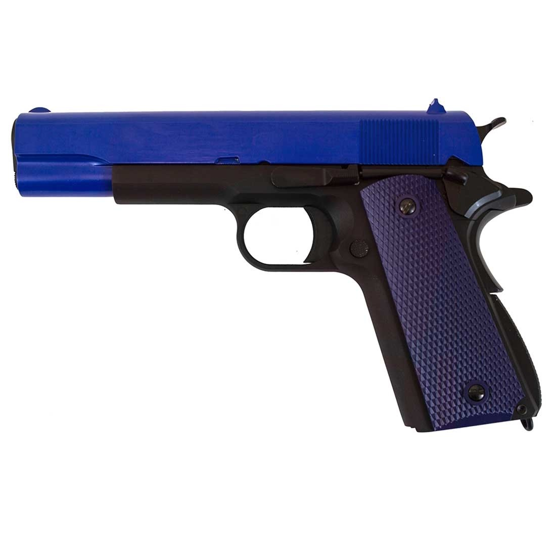 WE 1911 A GBB Pistol (Blue)