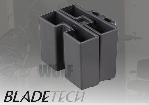 Blade-Tech Quad Mag Pouch Tek-Lok Black M9